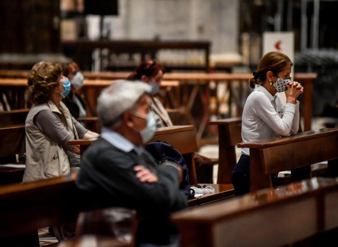Messa nel Duomo di Milano