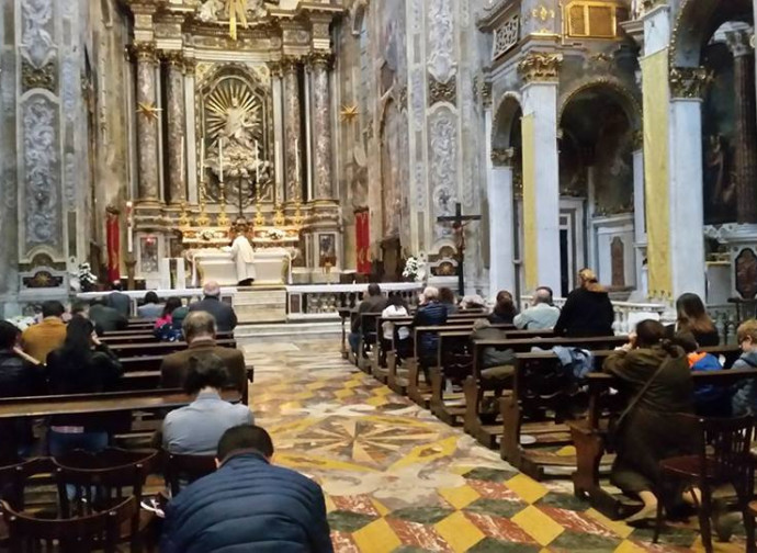 Santa Messa a Genova, Chiesa san Filippo