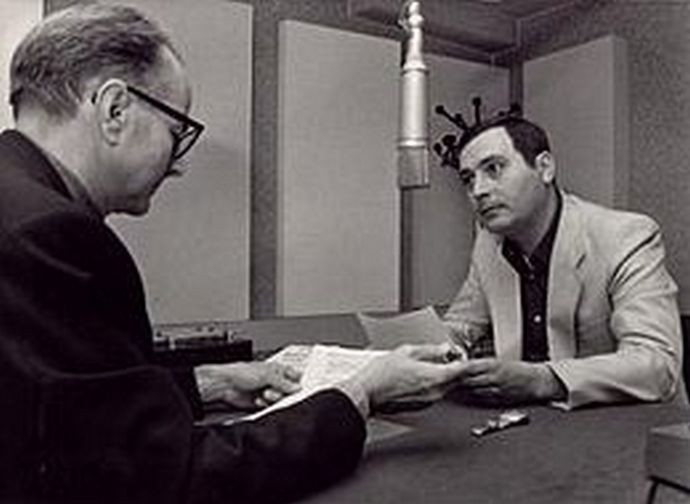 "Vittorio Messori presenta ""Ipotesi su Gesù"" a Radio Vaticana, 1976"