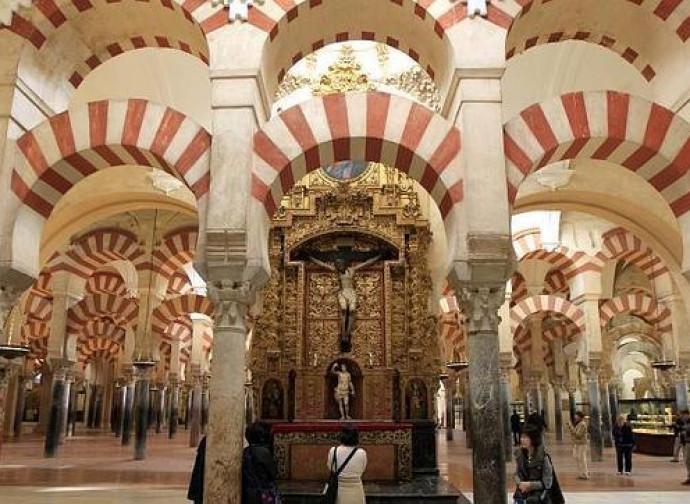 L'interno della cattedrale di Cordoba