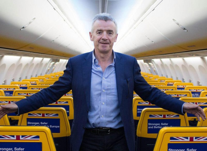 Michael O'Leary, Ceo di Ryanair