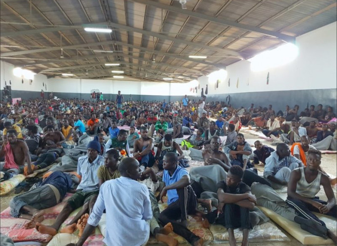 Emigranti in Libia