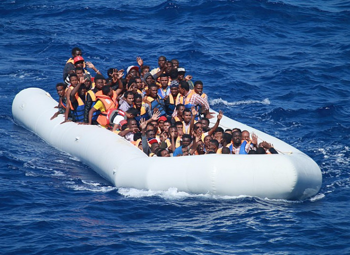 Emigranti nel Mediterraneo