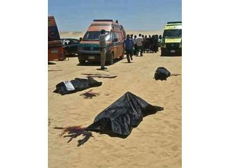 Copti uccisi in odio alla fede al monastero del santo confessore