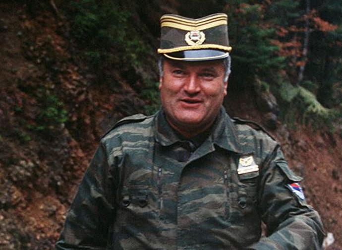 Ratko Mladic, ai tempi del suo comando in Bosnia