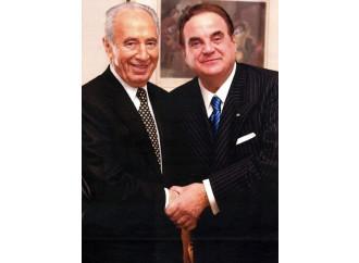 Shimon Peres visto da due grandi amici italiani