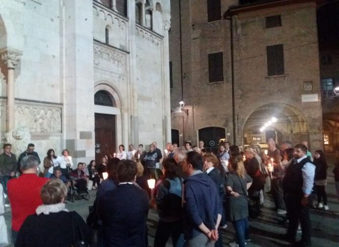 Veglia a Modena