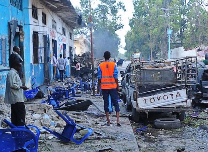L'attentato a Mogadiscio