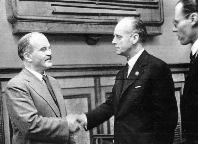 Molotov e Ribbentrop