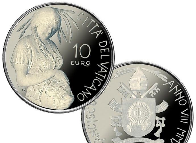 La nuova moneta vaticana