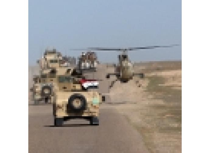 Truppe irachene avanzano su Mosul