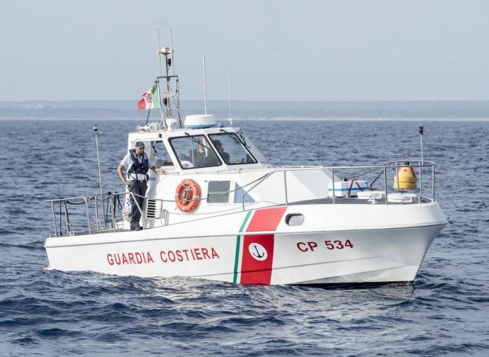 Una motovedetta Classe 500, come quelle cedute alla Libia