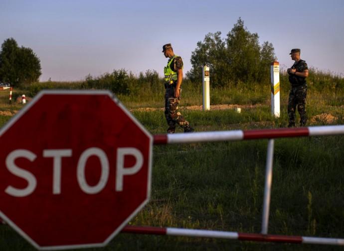 La frontiera chiusa fra Lituania e Bielorussia