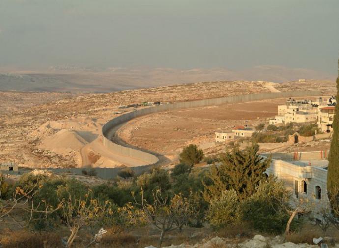 Il muro fra Israele e Palestina