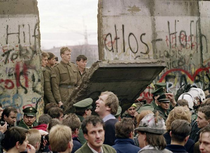Abbattimento del muro di Berlino