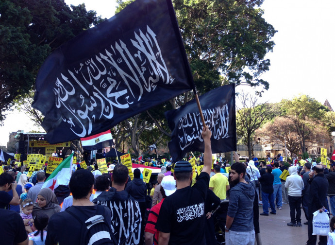Manifestazione dei Fratelli Musulmani