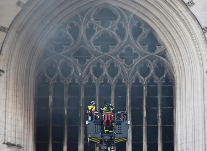 L'incendio alla Cattedrale di Nantes
