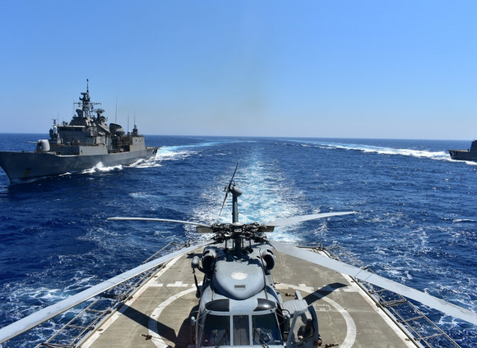 Esercitazioni navali greche dell'Egeo