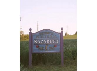 A Nazareth (Pennsylvania) non si può citare il Vangelo