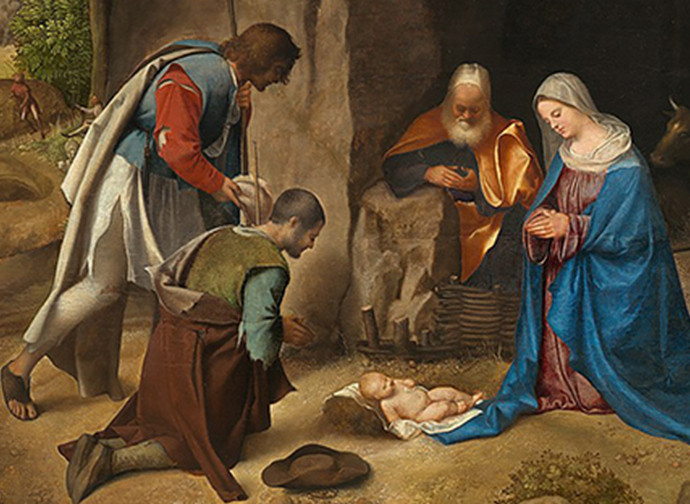 Giorgione, L'adorazione dei pastori
