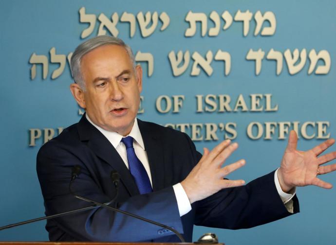 netanyahu, in conferenza stampa