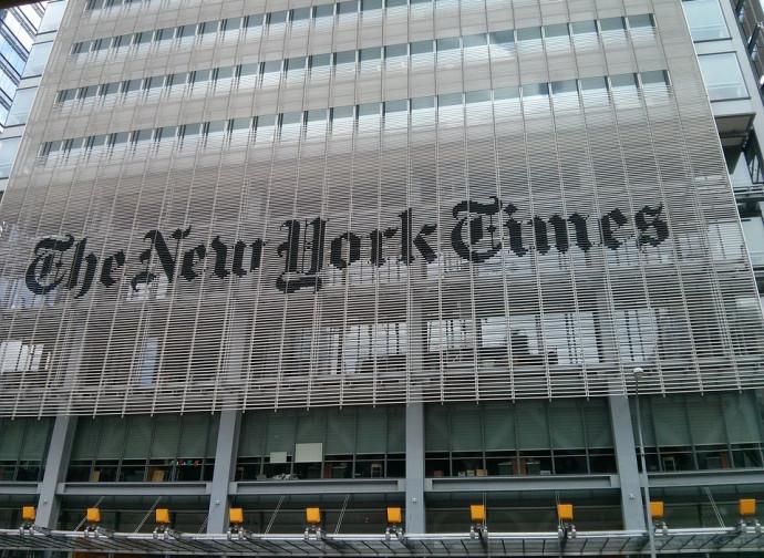 La sede del New York Times