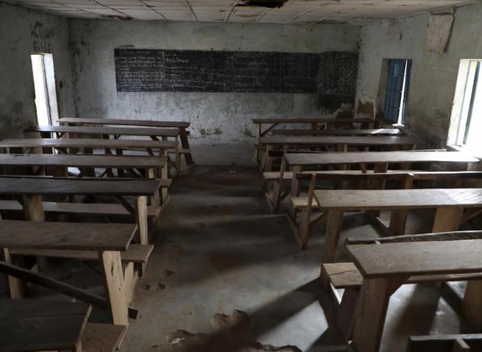 Il liceo di Kagara, attaccato il 18 febbraio