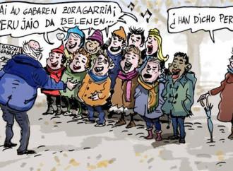 Quel Natale senza Gesù: nei Paesi Baschi diventa Perù