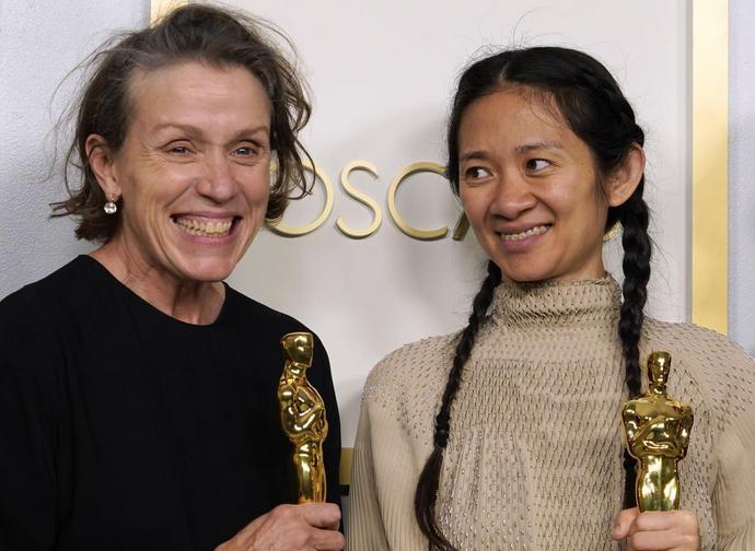 Frances McDormand e Chloè Zhao