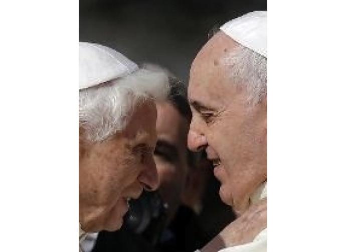 Benedetto XVI e Papa Francesco