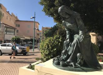La statua di Maria che fa adirare i paladini della liberté