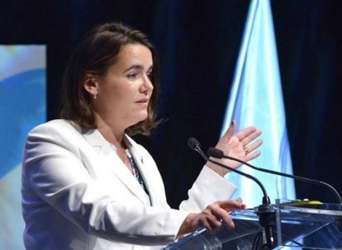 Katalin Novak, ministro della Famiglia in Ungheria