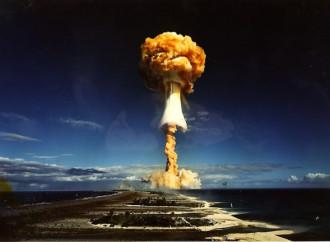 Papa: Condanno l'uso e il possesso delle armi nucleari