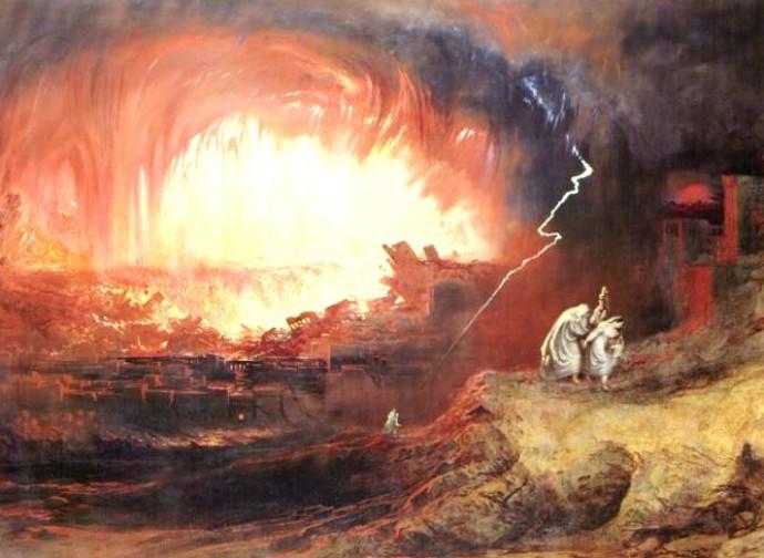 La distruzione di Sodoma