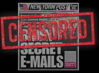 Lo scoop del New York Post su Biden silenziato dai social