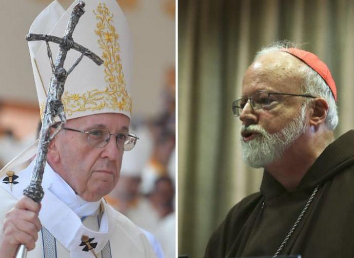Papa Francesco e il cardinale O'Malley