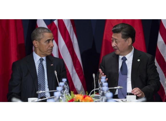 Obama e Xi Jinping