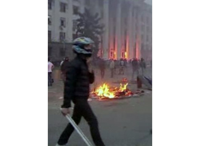 Scontri a Odessa