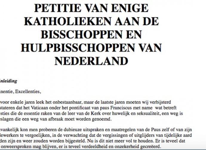 Petizione olandese