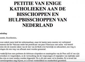 Confusione nella Chiesa, appello anche dall'Olanda