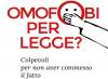 Omofobi per legge, una spada di Damocle sulla libertà