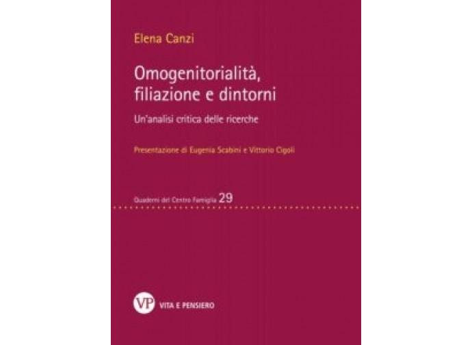 Copertina libro omogenitorialità