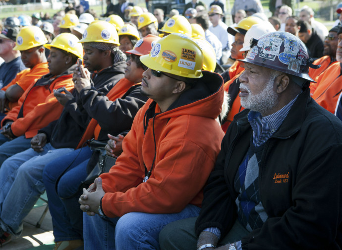 Operai del settore delle costruzioni