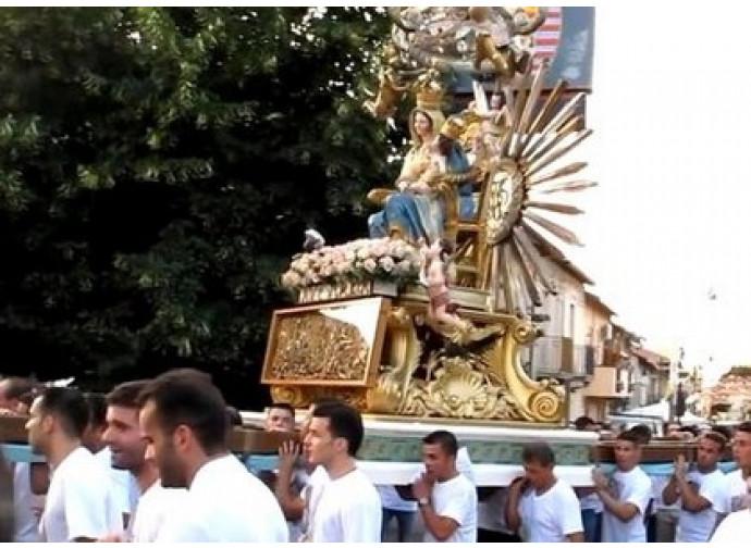 La processione della Madonna delle Grazie a Oppido Mamertina
