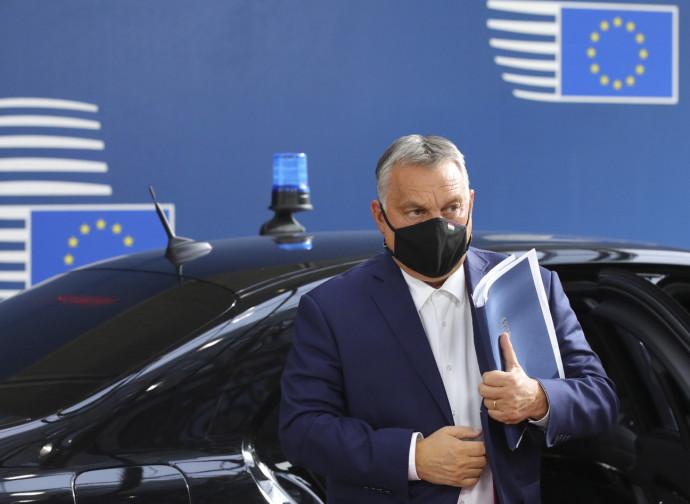 Orban a Bruxelles