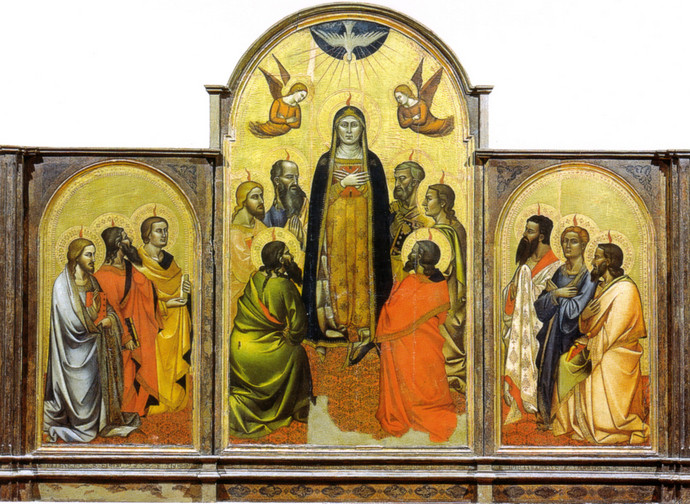 Pentecoste - Orcagna