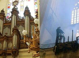 L'organo a canne bruciato: simbolo di un dramma diffuso