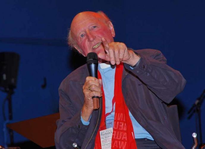 Il vescovo Fritz Lobinger