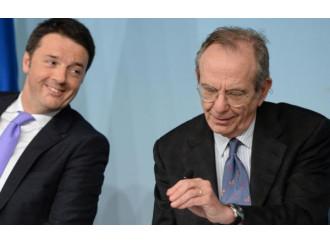 Finanziaria, una serie di elemosine elettorali di Renzi