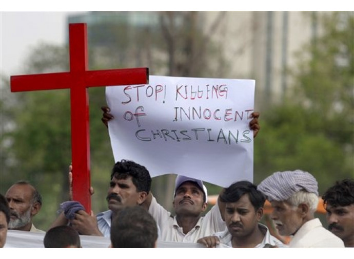 Pakistan, manifestazione in difesa dei cristiani
